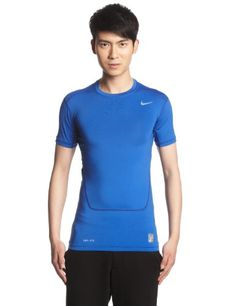 €9.73 in Gr. XXL * Nike Herren Kurzarm Shirt Pro Core 2.0 Compression, Game Royal/Cool Grey