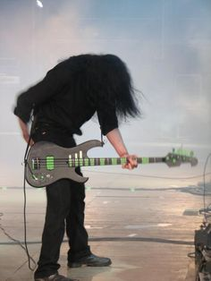 Peter Steele and his awesome bass!