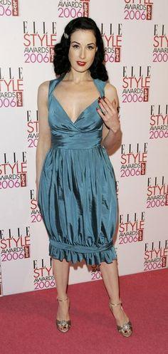 Dita Von Teese Photo - ELLE Style Awards 2006 - Arrivals