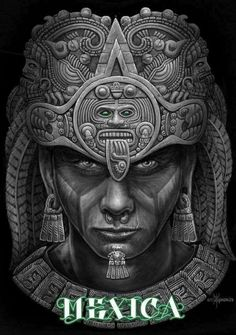 Image may contain: 1 personYou can find Aztec warrior and more on our website.Image may contain: 1 person Chicano Tattoos, Chicano Art, Tattos, Mayan Tattoos, Mexican Art Tattoos, Inca Tattoo, Symbol Tattoos, Polynesian Tattoos, Tattoo Ink