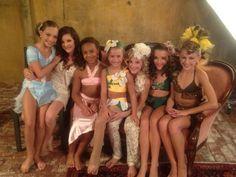 Maddie, Brooke, Nia, Kenzie, Paige, Kendall and Chloe!