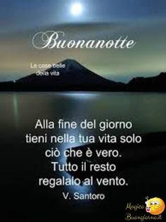 Immagine Della Buonanotte Con Luna Sul Mare Buonanotte Good