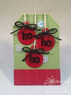 This is a great little tag ... with lots of elements!