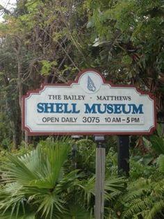 ๑ Sanibel Shelling ๑ — Bailey Matthews Shell Museum - Must see on Sanibel Island!