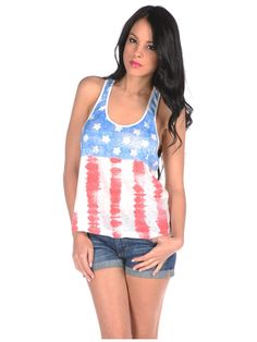 American Flag Tank by Mighty Fine