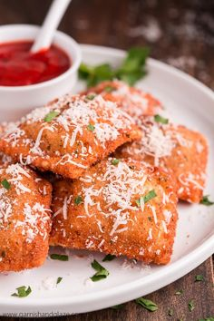 These Crisp Fried Toasted Ravioli, A St. Louis Specialty, Are The Perfect  Appetizer