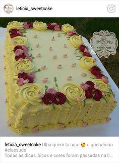 New Birthday Ideas Surprise Letters 49 Ideas 21st Birthday Cupcakes, Dessert Table Birthday, Adult Birthday Cakes, Birthday Ideas, Buttercream Decorating, Buttercream Cake, Cake Lettering, Cakes Plus, Ballerina Cakes