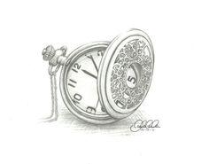 Pocket watch by Clanaad.deviantart.com on @deviantART