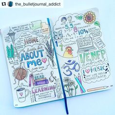 Thirsting for more bullet journal ideas? Here's the second installment of Ultimate List of Bullet Journal Ideas! Get your bullet journals ready! Bullet Journal Inspo, Bullet Journal Notebook, Bullet Journal Aesthetic, Bullet Journal Ideas Pages, Journal Pages, Bullet Journal Topics, Journal Ideas Smash Book, Bullet Journals, Wreck This Journal