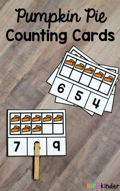 Pumpkin Pie Counting