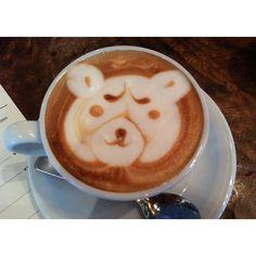 Indignant Bear @ Bondi Cafe, Hiroo, Tokyo, Japan