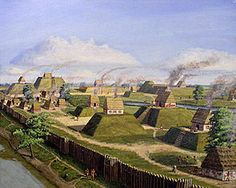 The Mississippian culture was a mound-building Native American culture that flourished in the United States before the arrival of Europeans.