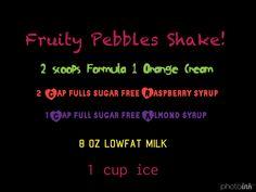 Herbalife Fruity Pebbles Shake Recipe
