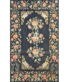 "Turkish Old Kilim Rug K-231-Design# 1073, Size- 5'-10"" X 10'-6"" #livingroom #diy #handmade #best #cleaning #modern #design #runner #print #carpet #rugs #flooring #office #home #decoration #bedroom"