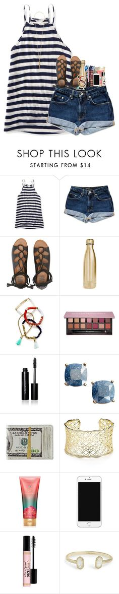 """"""""""" by pineappleprincess1012 ❤ liked on Polyvore featuring Aéropostale, Billabong, S'well, BaubleBar, Anastasia Beverly Hills, Bobbi Brown Cosmetics, Kate Spade, Kendra Scott, Victoria's Secret and Too Faced Cosmetics"""