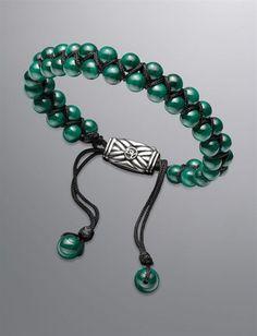 David Yurman | Men | Bracelets: Spiritual Bead Bracelet, Malachite