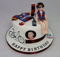 50th Birthday Cake  Cake by FancyCakesbyLinda