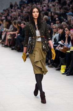 Burberry AW 2012 RTW by Christopher Bailey
