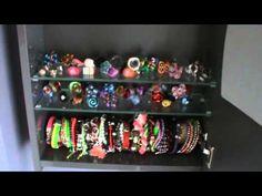 M Como ordenar mis collares pulseras anillos y pendientes - YouTube