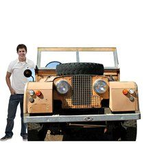 This Safari Vehicle Photo Stand In is a tan jeep with spare tire on the front that can be used for unique photo ops for your next jungle or safari themed party. Safari Theme Party, Jungle Party, Jungle Safari, Jungle Theme, Safari Room, Wild One Birthday Party, Safari Birthday Party, Jeep Photos, Car Photos