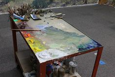 An Organized Palette Leads to Intuitive Color Mixing   FineArtViews Blog by FASO
