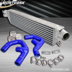 Twin Intercooler Kit For VW GOLF MK5 MK6 GTI FSI JETTA 2.0T A3 TURBO