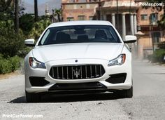 Maserati Quattroporte 2017 poster, #poster, #mousepad