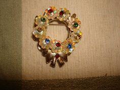 Vintage Maragarita Rivoli CRYSTAL FLOWER by PastPossessionsOnly, $11.95