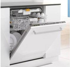 Miele Futura Dimension Plus Series Fully Integrated Dishwasher Cutlery Tray - Custom Panel Required Miele Dishwasher, Best Appliances, Kitchen Appliances, Kitchens, Miele Kitchen, Fully Integrated Dishwasher, Kitchen Appliance Storage, Appliance Repair, La Perla