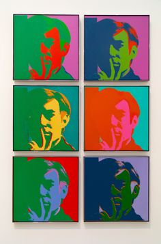 a8e75c7c1468 Self-Portrait by Andy Warhol at The Broad Museum in Los Angeles Cards, Movie