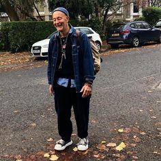 Nigel Cabourn, Converse Style, Boyish, Mode Style, Celebrity Photos, Work Wear, Hipster, Mens Fashion, Denim
