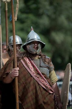 Iron Age, Military Costumes, Ancient Armor, Armor Clothing, Celtic Warriors, Celtic Culture, 1st Century, Arm Armor, Picts