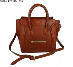 57e4919c1b Celine Luggage handbag in Multicolour Khaki Celine Handbags