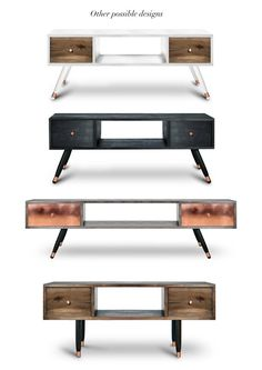 We recommend tv unit Krafla together with sideboard Vatnafjoll(black edition): https://www.etsy.com/listing/252184894/sideboard-vatnafjoll-black-edition?ref=shop_home_active_2 Beautiful, functional and made from solid wood and polished copper. The title is after the Icelandic volcano Krafla. Its highest peak reaches up to 818 m and it is 2 km in depth. If you are looking for one-of-a-kind unique furniture, then you have definitely come to the right place here at Railis Design. Here, you…