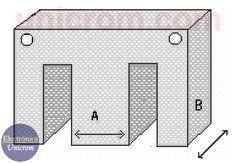 Cálculo de transformadores. Método práctico para de cálculo cuando se tienen las dimensiones del núcleo y se conocen los voltajes de entrada y salida Electrical Engineering, Electronics Projects, Transformers, Diy And Crafts, Audio, Kids Rugs, House Design, Power Generator, Renewable Energy