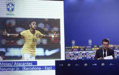 Dunga convoca Seleção com Neymar; Kaká, Lucas e Hulk estão de volta #globoesporte