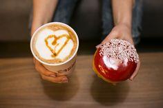 #donut #coffee #sweet #chocolate #yummy #love #doughnut