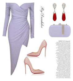 """""""Untitled #70"""" by darahdor on Polyvore featuring RED Valentino, Christian Louboutin and McTeigue & McClelland"""
