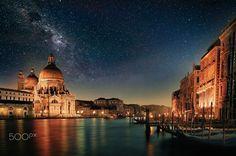 VENICE BY NIGHT by Francesco Cimato - Photo 135683157 - 500px