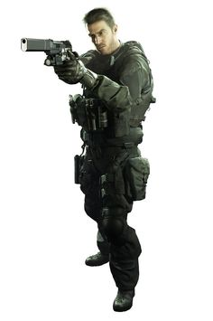View an image titled 'Chris Redfield Art' in our Resident Evil Biohazard art gallery featuring official character designs, concept art, and promo pictures. Resident Evil Hunk, Resident Evil 7 Biohazard, Fantasy Wizard, Fantasy Warrior, Fire Image, Evil World, Systems Art, Future Soldier, Video Game Characters