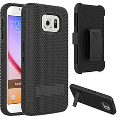 S6 Case, VAKOO For Samsung Galaxy S6 Belt Clip Pouch Case Shockproof Drop Proof Heavy Duty Case Rugged Soft Silicone Dual Layer Holster Armor Cover with Kickstand and Locking Belt Swivel Clip for Samsung Galaxy S 6 S VI BLACK Vakoo http://www.amazon.com/dp/B00VE7333O/ref=cm_sw_r_pi_dp_ZKpEvb1DZF2DB