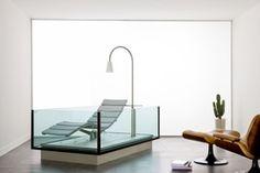 HOESCH Badewanne / Whirlwanne Water Lounge (freistehend mit Edelstahlboden)