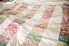 stacked coins quilt top by elizabeth mctague, via Flickr