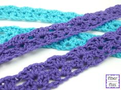 The Easy Lace Belt is a fun and super quick to crochet project that can be worn during all four seasons. A simple two row lace constr...