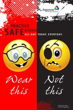 Safety posters | Argonne National Laboratory