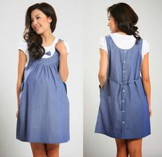 2015 summer maternity dress 2 piece set maternity one-piece dress pregnancy denim clothing bow clothes for pregnant women Mermaid Maternity Dress, Maternity One Piece, Maternity Dress Outfits, Plus Size Maternity Dresses, Dresses For Pregnant Women, Pregnancy Outfits, Maternity Wear, Maternity Fashion, Summer Maternity