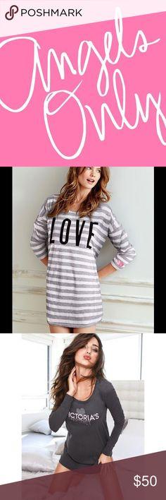 Bundle for Abigail. 3 vs angel sleep tees xl Intimates & Sleepwear Pajamas