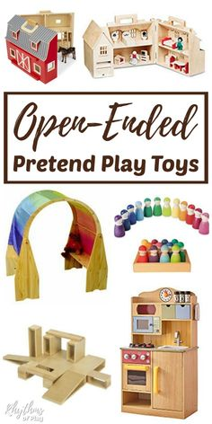 Latest Cost-Free toys by age children Tips , Open-Ended Pretend Play Toys - These 15 natural toys are perfect for imaginative, pretend or dramatic play. They are designed for toddlers, preschoolers, and elementary school aged kids. The Sims, Sims 4, Best Toddler Toys, Toddler Gifts, Gifts For Toddlers, Wooden Toys For Toddlers, Best Kids Toys, Montessori Baby, Baby Jogger