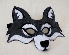 Wolf mask.