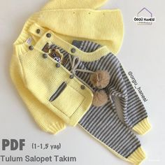 Knitting Patterns Boys, Baby Boy Knitting, Knitting Blogs, Knitting For Kids, Knit Baby Pants, Knitted Baby Clothes, Baby Cardigan, Knitted Hats, Warm Outfits